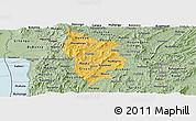 Savanna Style Panoramic Map of Muramviya