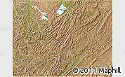 Satellite 3D Map of Muyinga