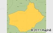 Savanna Style Simple Map of Buhinvuza