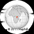 Outline Map of Butihinda