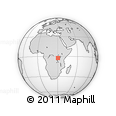 Outline Map of Giteranyi