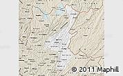 Classic Style Map of Muyinga