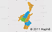 Political Map of Muyinga, cropped outside