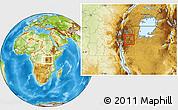 Physical Location Map of Muyinga