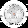 Outline Map of Muyinga