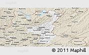 Classic Style Panoramic Map of Muyinga
