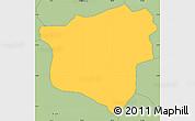 Savanna Style Simple Map of Gashikanwa