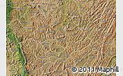 Satellite Map of Ngozi