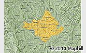 Savanna Style Map of Ngozi