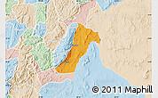 Political Map of Giharo, lighten