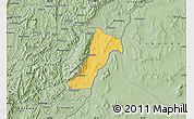 Savanna Style Map of Giharo