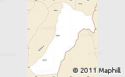 Classic Style Simple Map of Giharo