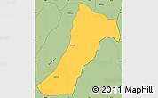 Savanna Style Simple Map of Giharo