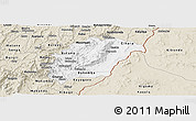 Classic Style Panoramic Map of Rutana