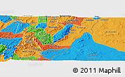 Political Panoramic Map of Rutana