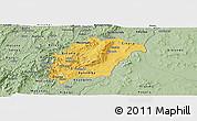 Savanna Style Panoramic Map of Rutana