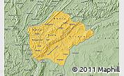 Savanna Style Map of Ruyigi