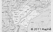 Silver Style Map of Ruyigi