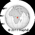 Outline Map of Ruyigi