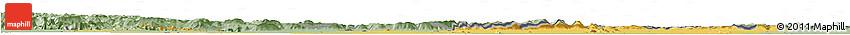Savanna Style Horizon Map of Banteay Meanchey