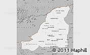 Gray Map of Banteay Meanchey