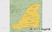 Savanna Style Map of Banteay Meanchey