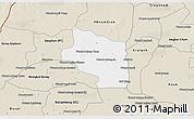 Classic Style 3D Map of Preah Net Preah