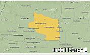 Savanna Style 3D Map of Preah Net Preah