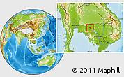 Physical Location Map of Preah Net Preah