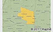 Savanna Style Map of Preah Net Preah