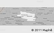 Gray Panoramic Map of Preah Net Preah