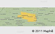 Savanna Style Panoramic Map of Preah Net Preah