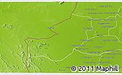 Physical 3D Map of Serey Sophorn