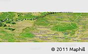 Satellite Panoramic Map of Thmar Puok