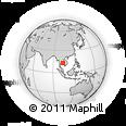 Outline Map of Battambang (PT)