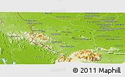 Physical Panoramic Map of Rattanak Mondul