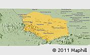 Savanna Style Panoramic Map of Rattanak Mondul