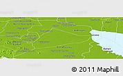 Physical Panoramic Map of Sangke