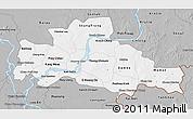 Gray 3D Map of Kampong Cham