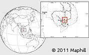 Blank Location Map of Dambe