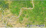 Satellite Map of Kampong Cham