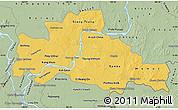 Savanna Style Map of Kampong Cham