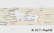 Classic Style Panoramic Map of Memot