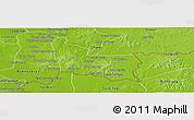 Physical Panoramic Map of Memot