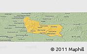 Savanna Style Panoramic Map of Memot