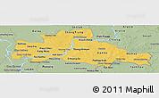 Savanna Style Panoramic Map of Kampong Cham