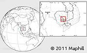 Blank Location Map of Chul Kiri