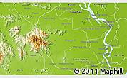 Physical 3D Map of Tuk Phos
