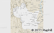 Classic Style Map of Kampong Speu
