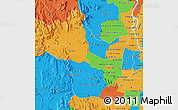Political Map of Kampong Speu
